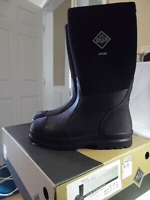 MUCK Boots Chore Work All Condition waterproof snow rain CHH000A-Hi Sz M 12 NEW