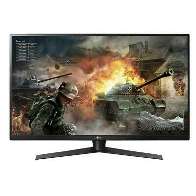 "LG 32GK850G-B 32"" QHD 144Hz G-Sync Gaming Monitor 2560x1440 USB 3.0 DP HDMI VA"
