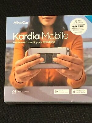 AliveCor Kardia Mobile Electrocardiogram EKG Real-Time Detection in 30 Seconds