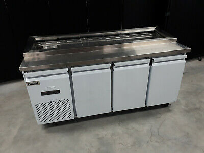Commercial Salid Bar Pizza Prep Fridge 1.8M