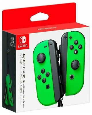 NEW  Nintendo Switch Joy-Con L R  Neon Green  Wireless Bluetooth NFC Controllers