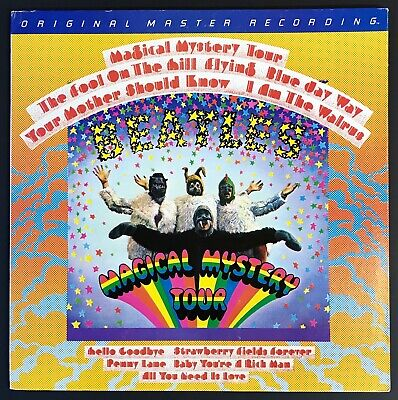 BEATLES Magical Mystery Tour MFSL AUDIOPHILE LP Japan Mobile Fidelity NM VINYL