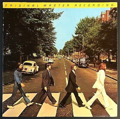 BEATLES Abbey Road MFSL AUDIOPHILE LP Japan Mobile Fidelity Half Speed NM VINYL