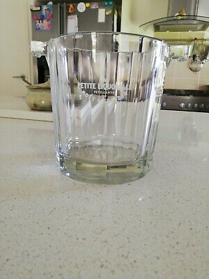 Vintage MOET CRYSTAL ICE BUCKET