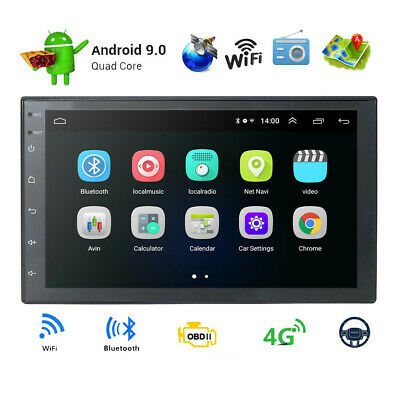 """7"""" Android 8.1 Quad Core 2 DIN GPS MP5 Stereo Radio Car Multimedia Player"""