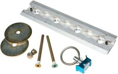 """SteadyMate Aluminum Recessed L Track Kit with Stud Fitting 8 15523 8"""""""