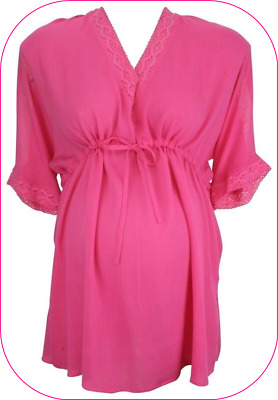 BRIGHT PINK Mothercare Blooming Marvellous Maternity Top UK  size: 20  -   bnwot