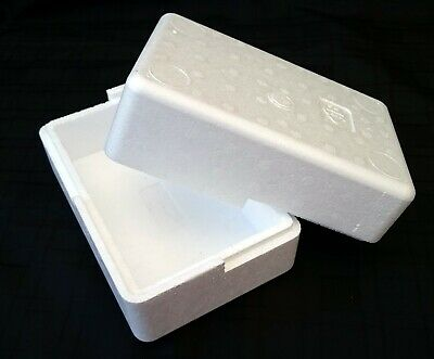 183x128x114mm POLYSTYRENE BOXES FISH REPTILES PERISHABLE GIFT MEDICAL PACKAGING
