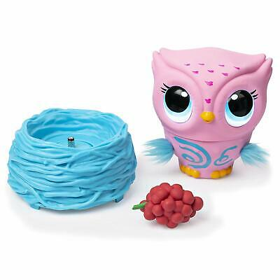 Owleez Flying Baby Owl Interactive Toy - Pink - Fast and Free Postage- BN
