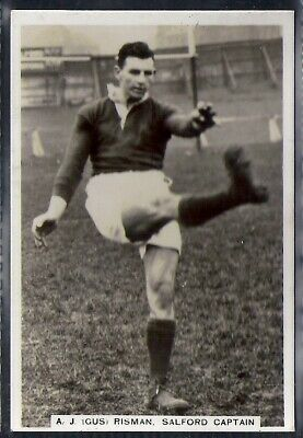 Pattreiouex-Sporting Events & Stars (Mf96)-#94- Rugby - Salford - Gus Risman