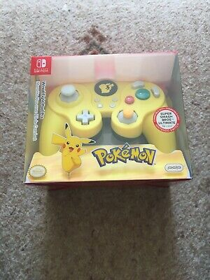 Wired Fight Pad Pro Pikachu - Nintendo Switch Brand New And Sealed