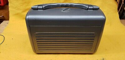 GE model 250 portable radio recapped and working