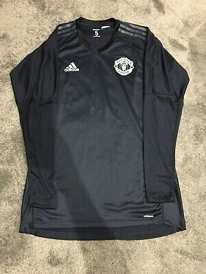 Manchester United Pro GoalKeepers Issue Shirt Size 5 Adidas Printed Badge Rare