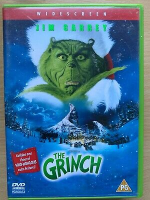How the Grinch Stole Christmas DVD 2000 Dr Seuss Movie Classic with Jim Carrey