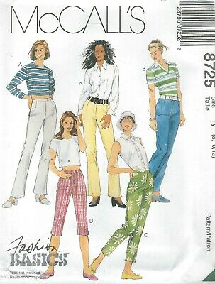 McCall/'s 3992 Misses/' Pants in Five Lengths    Sewing Pattern