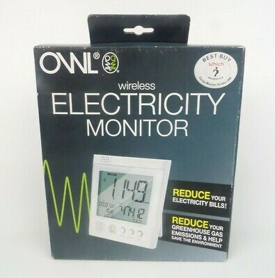 OWL Wireless Electricity Monitor Energy Usage Set - For Home / Business NEW