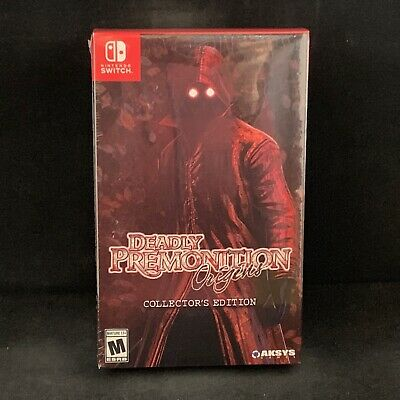 Deadly Premonition Origins Collector's Edition (Nintendo Switch) BRAND NEW