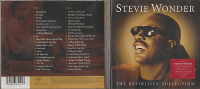 Stevie Wonder - The Definitive Collection - 044006650227 - Brilliant 2 Disc Cd