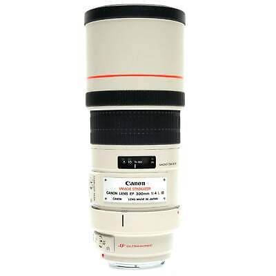 Canon EF 300mm f4 L IS Lens with Case