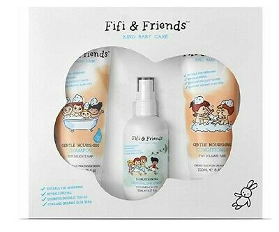 Fifi & Friends Baby Shampoo Natural Organic Gift Set RRP: £27