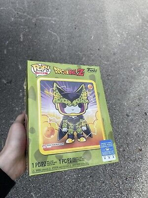FUNKO POP! Dragon Ball Z Metallic Perfect Cell (Med. Tee) GameStop Exclusive