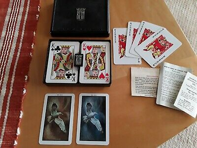 KEM Plastic Dove Playing Cards Double Deck with jokers - Excellent Condition