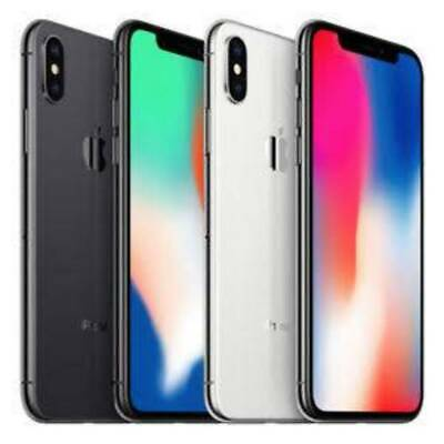 Apple iPhone X A1901 256GB GSM Network Unlocked AT&T and T-Mobile Good Condition