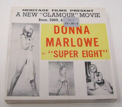 8mm Heritage Glamour film Donna Marlowe