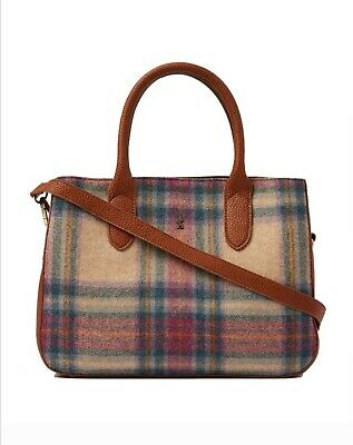 Joules Thernwell Tweed Grab Bag / Handbag Brand New with Tag and Packaging
