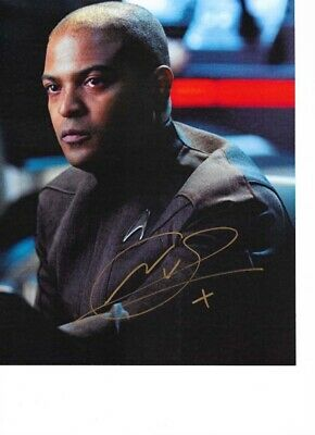 Star Trek Autograph Hand Signed Noel Clarke From Into Darkness