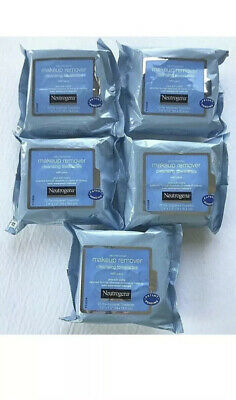 Neutrogena Makeup Remover Cleansing Towelettes Face Wipes 125 Ct -lot of 5 x 25