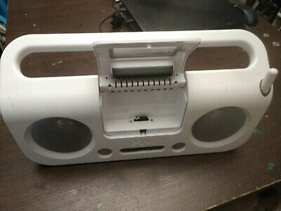 XM Satellite Radio White belkin  delphi Boombox WITH REMOTE (No Power supply)