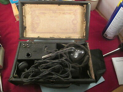 vintage Bleadon-Dun Violetta violet ray antique quack medical device