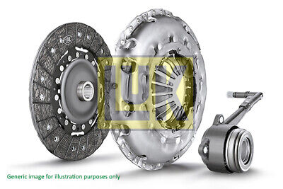 VOLVO S60 MK2 2.0D Clutch Kit 3pc (Cover+Plate+CSC) 10 to 15 240mm LuK 30735828