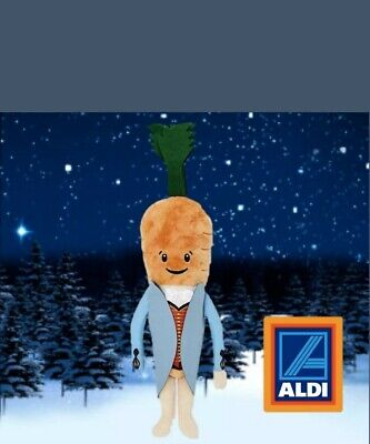 ❤💙Aldi Official Kevin the Carrot 2019 Soft Toy❤💙