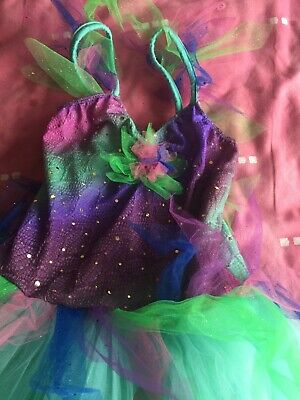 Kids Flower Girls Party Unicorn Tutu Sequin Fancy Dress Ballet Costume Outfit