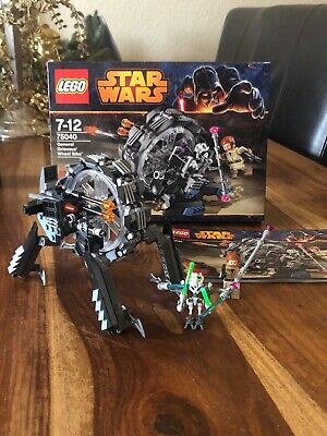LEGO Star Wars General Grievous' Wheel Bike (75040) - alle Teile - Top