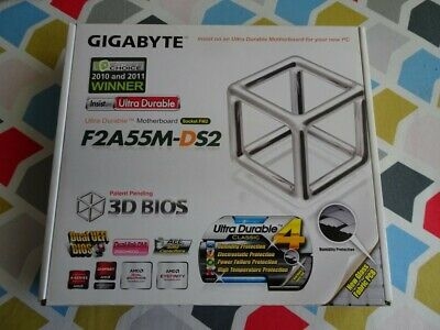 Motherboard CPU combo Gigabyte GA-F2A55M-DS2 with AMD A4 32GHz