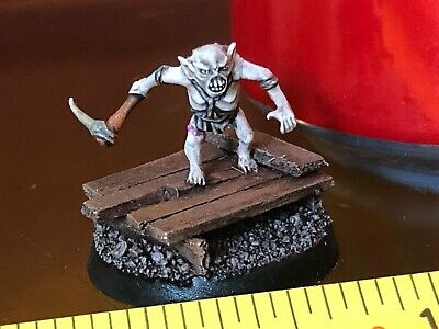 Goblin Captain Hobbit Well Painted Middle Earth SBG GW LOTR Lord of the Rings
