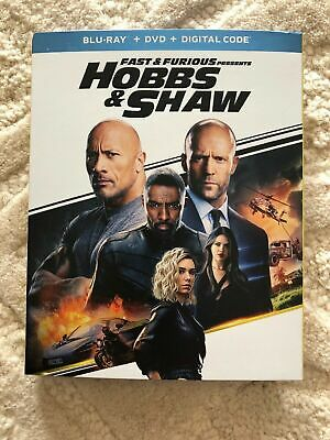 Fast and Furious: Hobbs and Shaw (BLURAY DVD/ Digital) BRAND NEW, FREE SHIPPING!