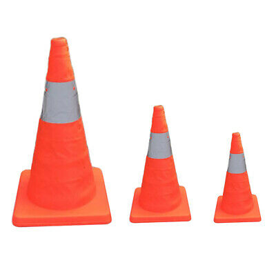 Collapsible Traffic Cones Multi Purpose Pop up Reflective Safety Cone