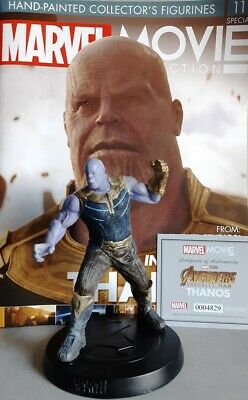MARVEL MOVIE COLLECTION SPECIAL #11 Figurine Thanos (Avengers: Infinity War) OVP