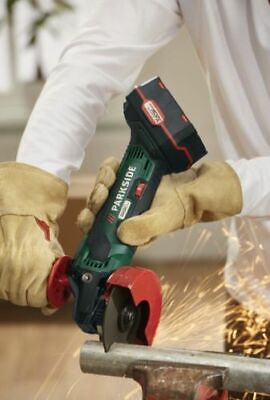 Parkside Cordless Angle Grinder 20V With Li-ion Battery & Charger PWSA 20-Li B3^