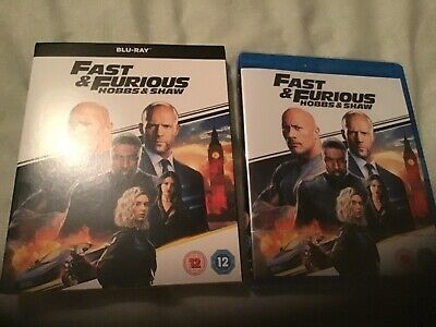 Fast & Furious Presents: Hobbs & Shaw [Blu-ray] Brand New & Sealed With Slipcase