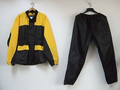 Himalaya Motor Bike Wear Rain Suit Small Yellow & Black