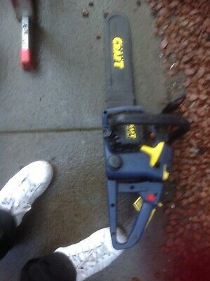 craft petrol chainsaw 39cc can'tget started, working well in the summer