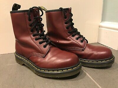 Dr. Martens 1460 Original Boots - Cherry Red. UK size 4