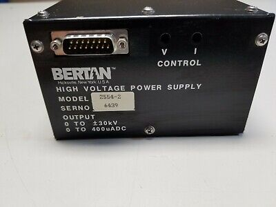 Bertan High Voltage Power Supply 30kV 2554-2