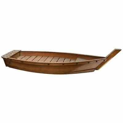 Japanese Big Antique Hand Carved Boat Fune, Ikebana Or Sushi Anyone?