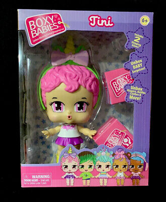 Boxy Babies Tini Doll With Surprise Boxes Boxy Girls